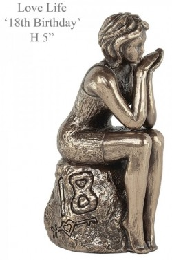 Picture of 18th Birthday Bronze Figurine