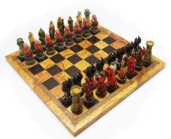 Picture of Fire vs Water Fantasy Chess Set