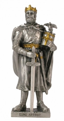 Picture of King Arthur Pewter Figurine