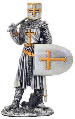 Picture of Crusader Pewter Figurine