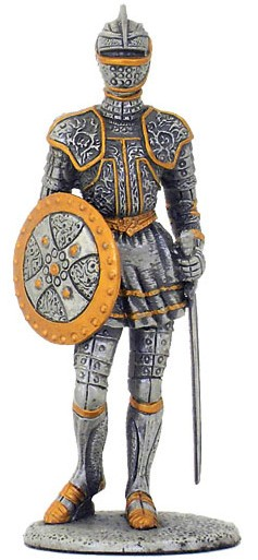 Picture of Knight Champion Pewter Figurine