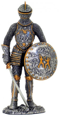 Picture of Elite Medieval Knight Pewter Figurine