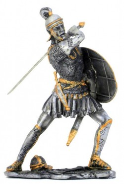 Picture of Roman Attacking Pewter Figurine