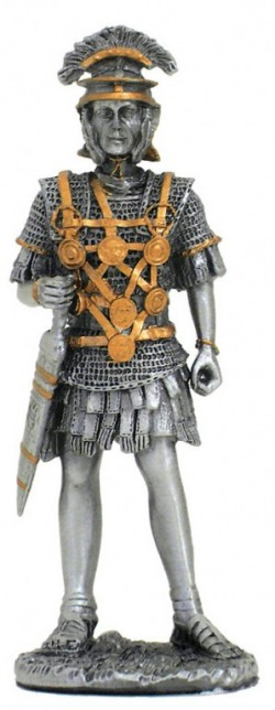 Picture of Roman with Sword Pewter Figurine