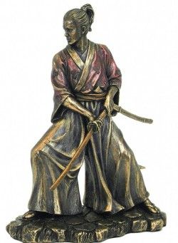 Picture of Samurai Bronze Figurine