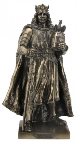 Picture of King Arthur Bronze Figurine