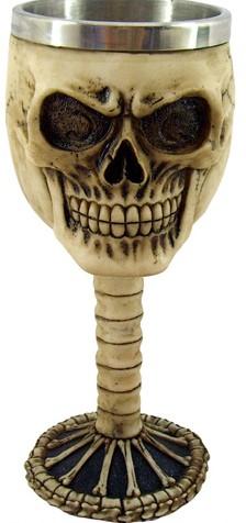 Picture of Skull Goblet 18 cm