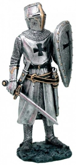 Picture of Knight with Sword and Shield Figurine