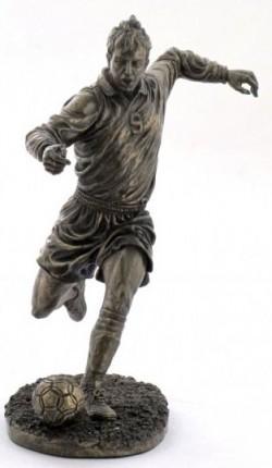 Picture of Footballer Bronze Figurine