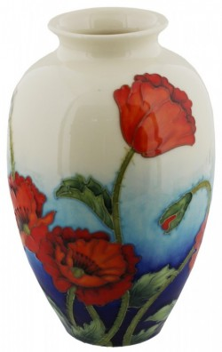 Picture of Poppy Design Vase 8 inches (Old Tupton Ware)