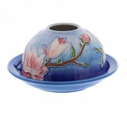 Picture of Magnolia Bloom Domed Tea Light Holder