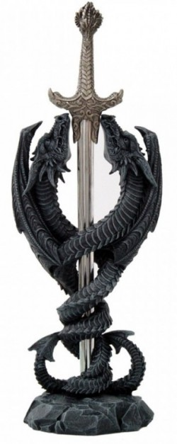 Picture of Dragon Blade Ornament Letter Opener