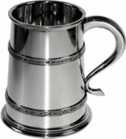 Picture of Double Celtic Band Medium Tankard
