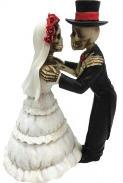 Picture of Endless Love Skeleton Figurines