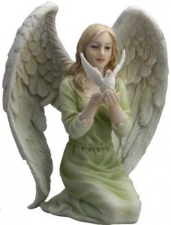 Picture of Kneeling Dream Heavenly Peace Angel Figurine