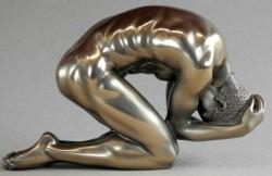 Picture of Nude Male Body Talk Bronze Figurine