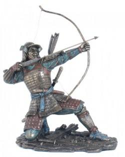 Picture of Samurai Archer Bronze Figurine 23cm