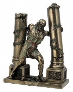 Picture of Samson Bronze Figurine 24 cm