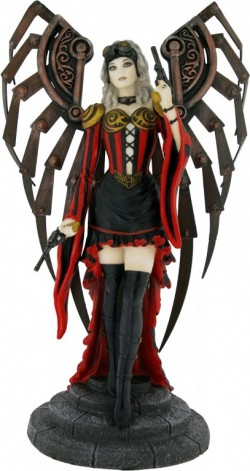 Picture of Avenger Steampunk Angel Figurine (Anne Stokes)