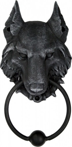Picture of Wolf Gothic-Style Door Knocker