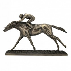 Picture of The Final Straight Bronze Horse Sculpture Large