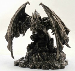 Picture of Snarlfyre Dragon King Bronze Figurine