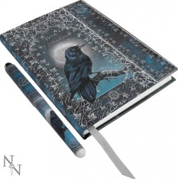 Picture of Book of Shadows A5 Embossed Journal with Pen