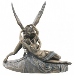 Picture of Cupid and Psyche Bronze Statue