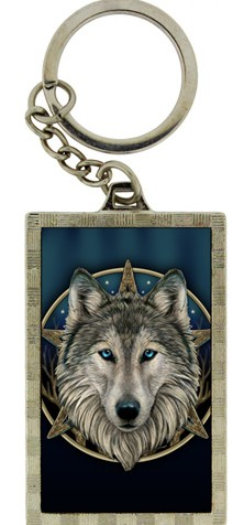 Picture of Wolf 3d Keyring (Lisa Parker)