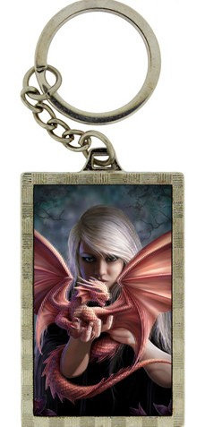 Picture of Dragonkin 3D Keyring (Anne Stokes)