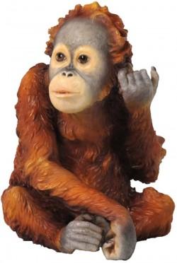 Picture of Baby Orangutan Figurine NEW