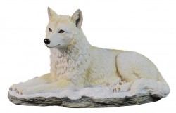 Picture of Arctic Wolf Figurine