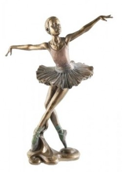 Picture of Ballerina Beautiful Dance Bronze Figurine