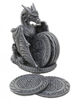 Picture of Black Dragon Coaster Set