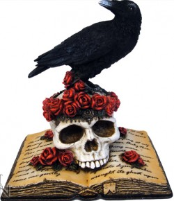 Picture of Ravens Heartache On Skull