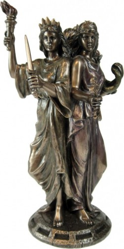Picture of Hecate Goddess of Magic Figurine