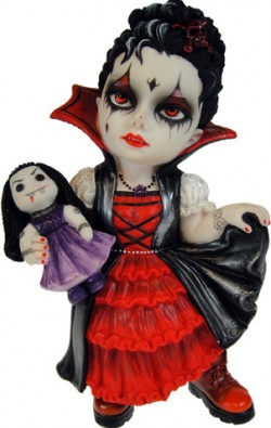 Picture of Scarlet Fangs Cosplay Girl Figurine