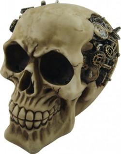Picture of Clockwork Cranium Steampunk Skull Ornament New