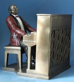 Picture of Piano Player Jazz Bronze Figurine 22.5cm