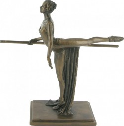 Picture of The Discipline Ballerina Bronze Figurine