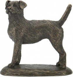 Picture of Border Terrier Bronze Sculpture (Harriet Glen)