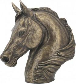 Picture of Bronze Horse Head Sculpture by Harriet Glen
