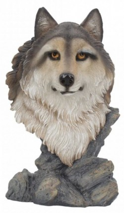 Picture of Noble Wolf Bust