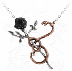 Picture of A Rose for Eve Necklace