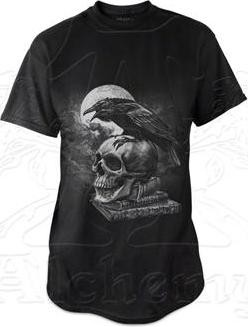 Picture of Poes Raven T Shirt Alchemy Gothic