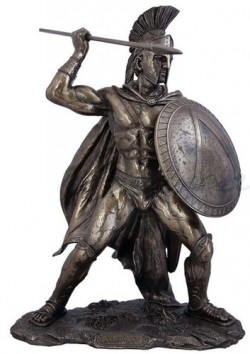 Picture of Leonidas King of Sparta Bronze Figurine EXTRA LARGE 52cm