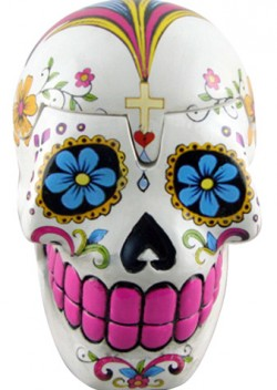 Picture of Sugar Skull White Box