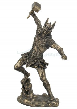 Picture of Thor Bronze Figurine 32 cm NEW