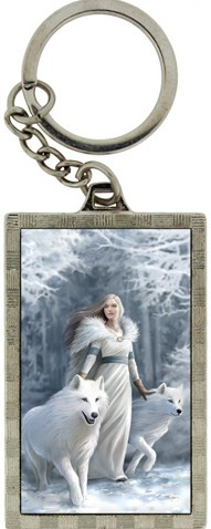 Picture of Winter Guardians 3D Keyring (Anne Stokes)