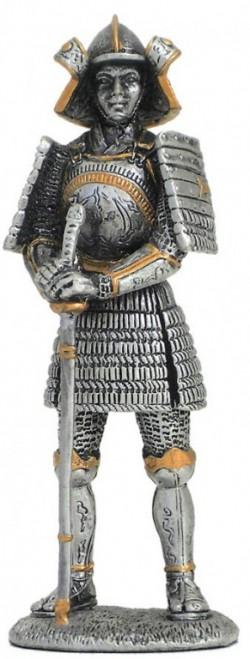 Picture of Samurai Warrior Pewter Figurine NEW